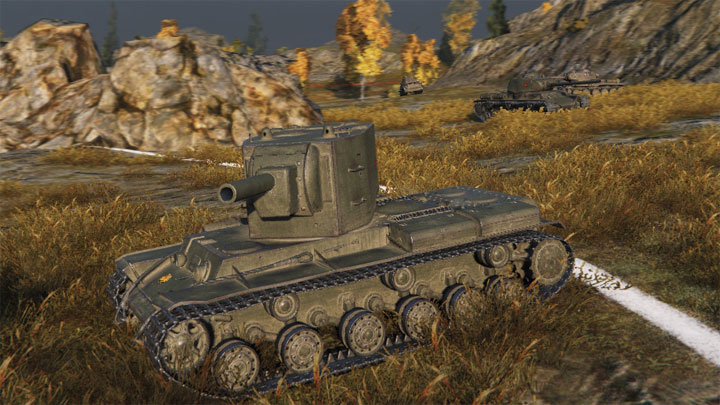 Танк КВ-2 в World of tanks
