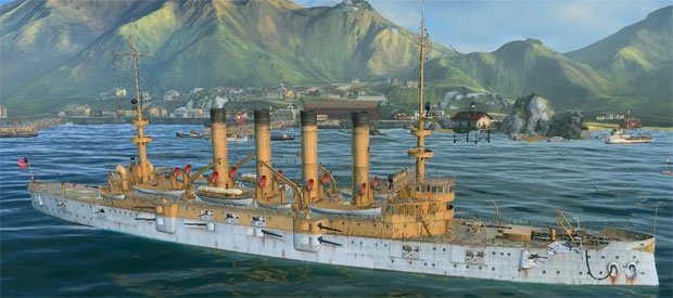 Корабль St. Louis в World of warships