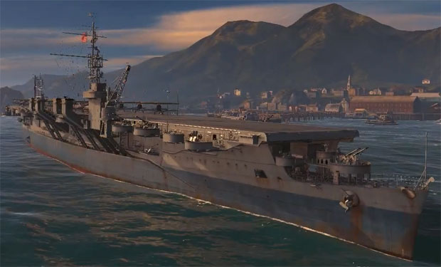 Корабль Independence в World of warships