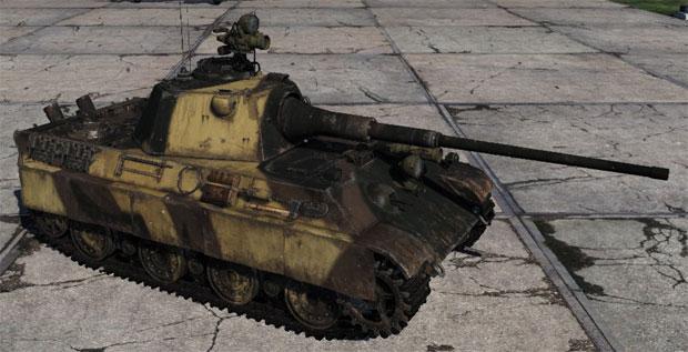 танк пантера 2 вар тандер