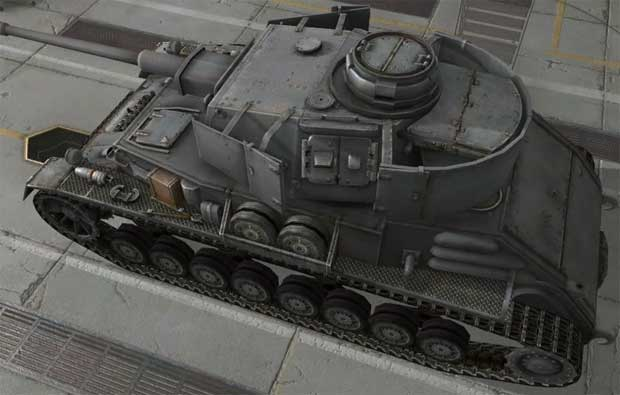 Танк Pz.Kpfw. IV hydrostat. в World of tanks