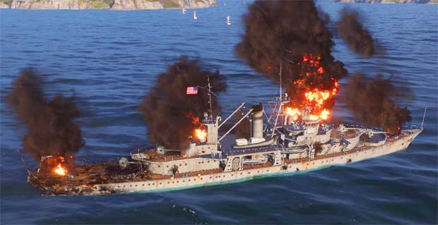 Как играть на крейсере в World of warships