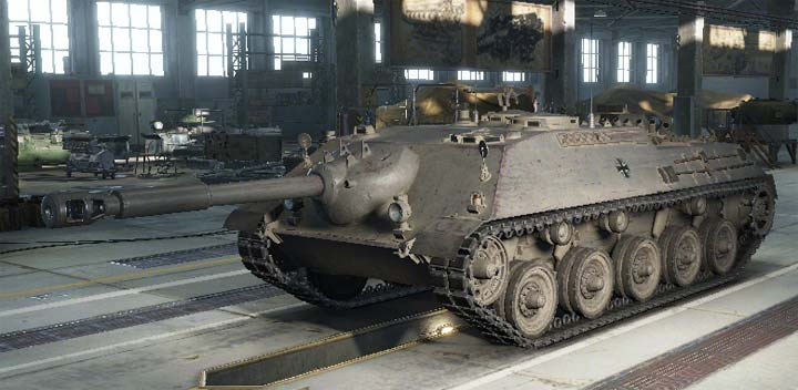 Kanonenjagdpanzer в World of tanks