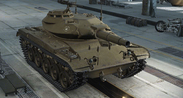 Легкий танк T49 в World of tanks