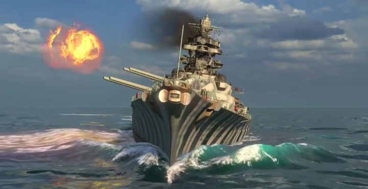 Обзор линкора Тирпиц в World of warships