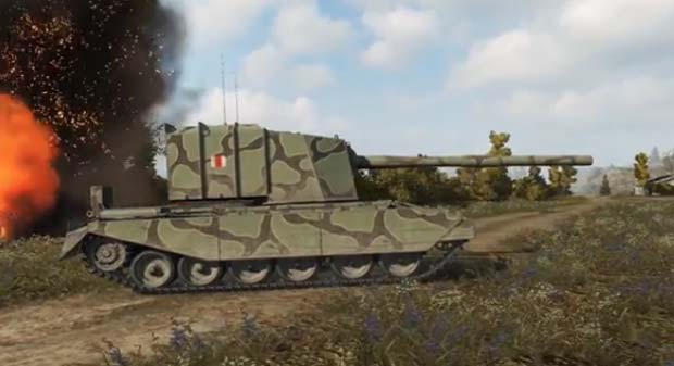 Танк FV4005 Stage 2 в World of tanks