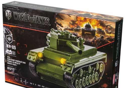 Конструктор Zormaer World of tanks танк КВ-85