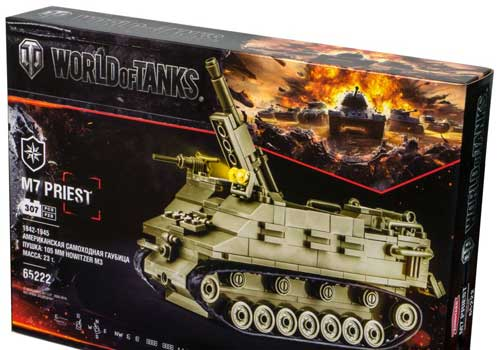 Конструктор Zormaer M7 PRIEST World of tanks